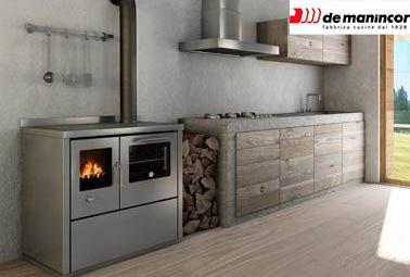 Stufe cucina a legna e sauna paccagnel terlano alto adige - Stufe a legna de manincor ...